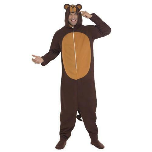 12bbdd68b4a5 Mens Animal Onesie