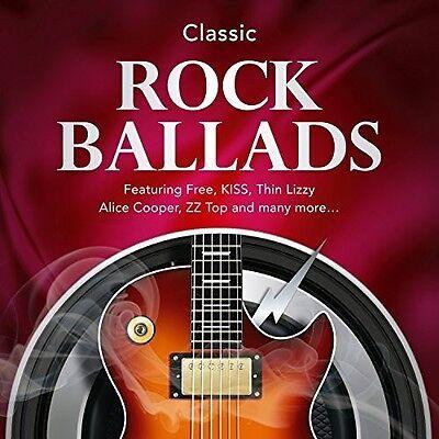 Various Artists   Classic Rock Ballads   Various  New Cd  Uk   Import
