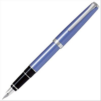 Pilot NAMIKI Light-Blue SF nib METAL FALCON (ELABO) Flexible Nib Fountain Pen