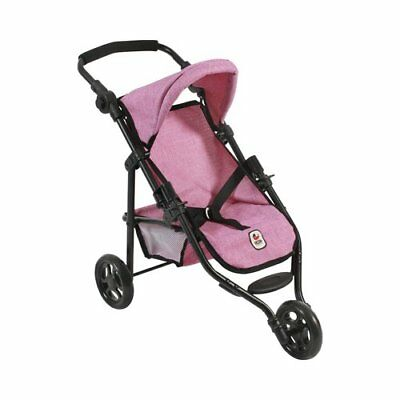BAYER CHIC Puppen-Jogging-Buggy Lola Puppenzubehör NEU jeans/pink
