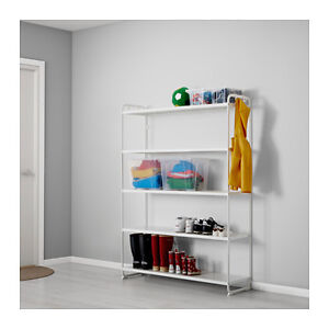 Storage shelving unit, can deliver