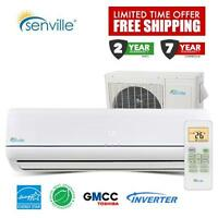 Mini Split Air Conditioners With Heater - Winter Clearence
