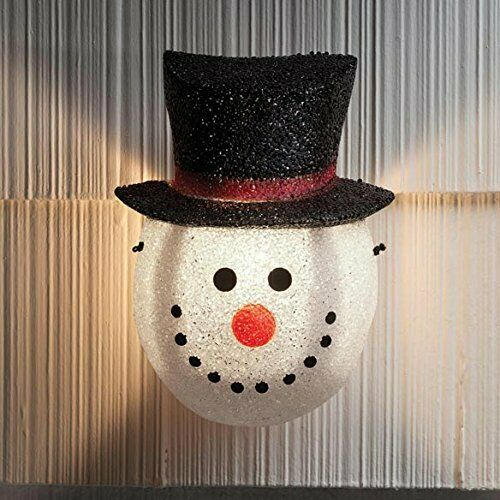 Kovot Snowman Holiday Porch Light Cover