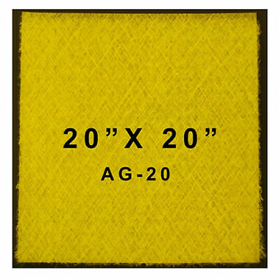 Paasche Ag-20 Paint Spray Booth Filters 20 X 20 Case Of 50
