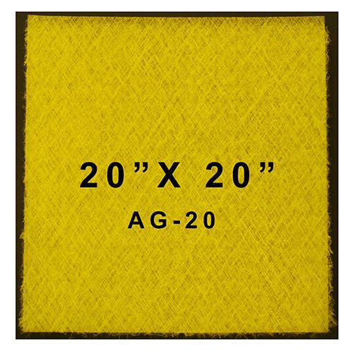 """Paasche AG-20 Paint Spray Booth Filters (20"""" x 20"""") Case of 50"""