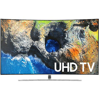 Samsung 65  Curved 4K Ultra Hd Tv With Smart Remote 2017 Model   Un65mu6500
