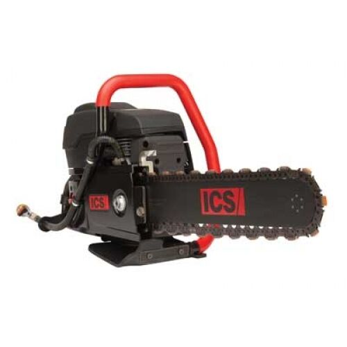 "Ics 695f4 16"" Gas Powered Diamond Chain Saw Package With Guidebar & Chain"