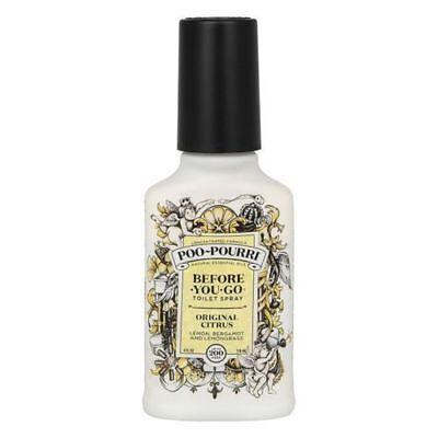 Poo Pourri Before you Go Toilet Original Citrus 4oz Bottle Odour Spray...