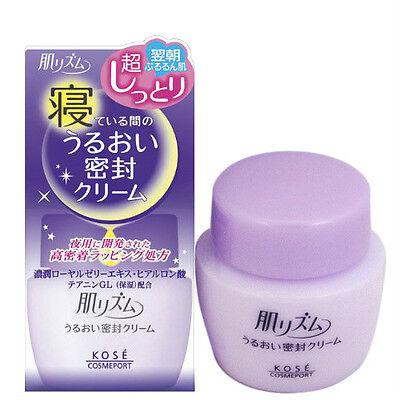 New KOSE Cosmeport Hada Rhythm Moisturizing Night Face Cream Moisturizer 53g