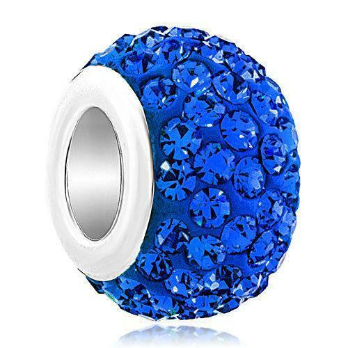 Birthstone charms ebay for Birthstone beads for jewelry making