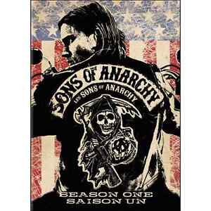 Sons of anarchy dvds season 1 to 3