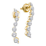 14k Diamond Earrings Journey
