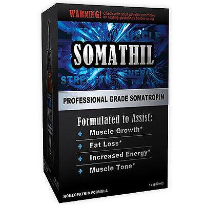 PMG Labs Somathil (Professional Grade Somatropin) for muscle tone  - 1 fl oz