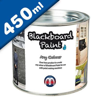 Tafelfarbe / Schultafel-Lack transparent 0,45 L - zum selber mischen (Lack Farbe Mischer)
