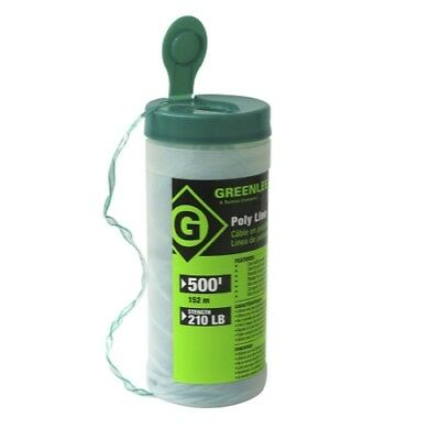 Greenlee 430-500 Poly Fish Line Tracer Green 500-foot