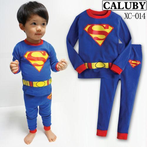 Superman Pajamas: Clothing, Shoes & Accessories | eBay