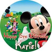 Mickey Mouse Clubhouse Cake Toppers