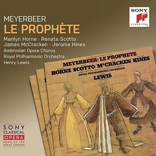 LEWIS.HENRY - LE PROPHÈTE 3 CD NEU MEYERBEER,GIACOMO
