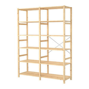 sectional shelving units