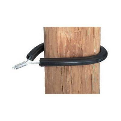 Dare Electric Fence Insulator Tubular Corner Amp End Post Black 10-pk.