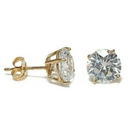 diamonique 14k earrings ebay