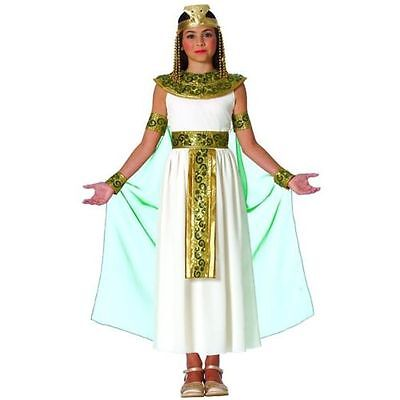 CHILD GIRLS CLEOPATRA EGYPTIAN QUEEN OF THE NILE PRINCESS KIDS COSTUME GODDESS (Egyptian Costume)