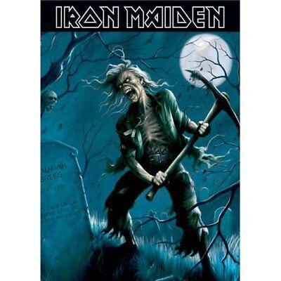 Iron Maiden Postcard Benjamin Breeg Standard Official Band Music