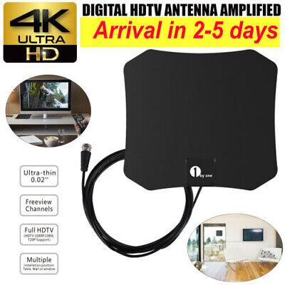 HDTV Digital TV Antenna Indoor Aerial HD Freeview Signal Amp