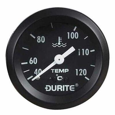 Durite 0-533-23, Mechanical Water Temperature Gauge with 12' Capillary - Marine
