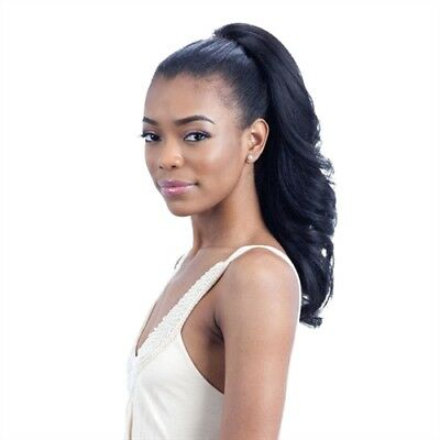 (FEATHER GIRL - FREETRESS EQUAL DRAWSTRING SYNTHETIC PONYTAIL)