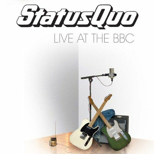 STATUS QUO - LIVE AT THE BBC: 2CD SET (2010)