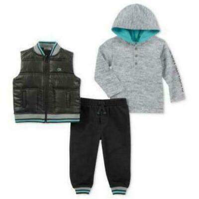 Calvin Klein Baby Boy 3PC Vest Set Size 3-6 Months