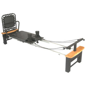 Pilates Reformer with Rebounder - for home use