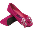 US Size 9 Flats Synthetic Shoes for Girls