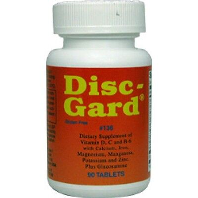 - DISC GARD CARTILAGE, JOINTS, & DISC SUPPORT 90 TABLETS, FAST USA SHIPPING!