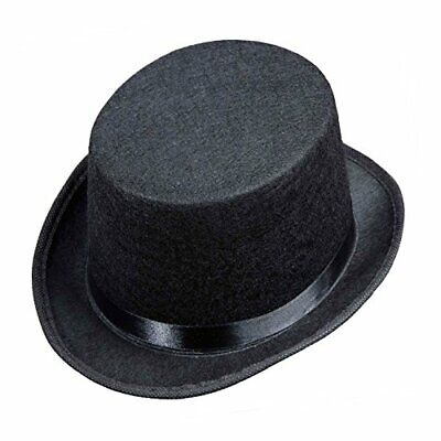 Top Felt Child Size - Black Felt Top Hats Caps  Headwear for Fancy Dress Costum](Childrens Top Hats)