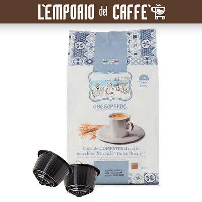 96 Capsule Gattopardo Orzo - Compatibili Sistema Nescafè Dolce Gusto