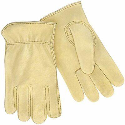 Steiner P241-M Drivers Gloves, Premium Grain Pigskin, Unlined, Shirred Wrist,... Shirred Unlined Gloves