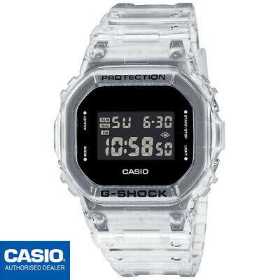 CASIO DW-5600SKE-7ER⎪ORIGINAL⎪SKELETON⎪G-SHOCK The Origin⎪JELLY G-SHOCK
