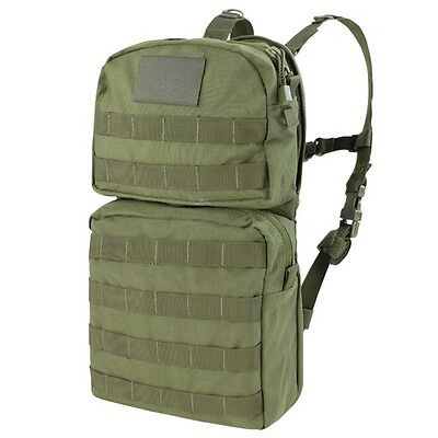 Condor Hcb2 Od Green Molle Hydration Carrier Backpack W 2 5L Bladder Included