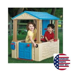 NEW* APT MY FIRST PLAYHOUSE - 111685741 - AMERICAN PLASTIC TOY