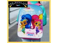 Official Shimmer And Shine Character Ex-Large School Backpack