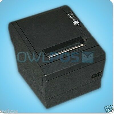 Epson TM-T88III M129C POS Thermal Receipt Printer Parallel Dark Gray w/ Pwr Sply