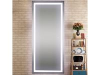 LED salon mirrors £199 each. 3 for £499. 5 for £799