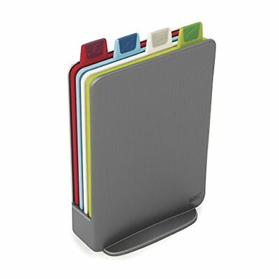 Storage Color Code - Joseph Joseph 60098 Index Cutting Board Set with Storage Case Plastic Color Code