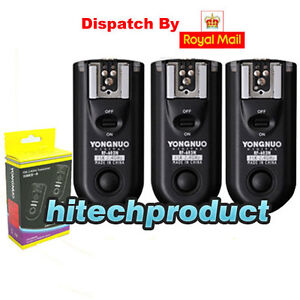 Yongnuo RF-603 3 PCS wireless flash trigger Nikon N1 for D3 D1 D2 D200 D300 D700