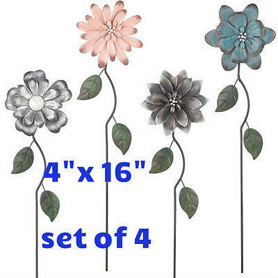 Asstd Colors Set (Flower Picks - Set of 4 Asstd. Styles & Colors4