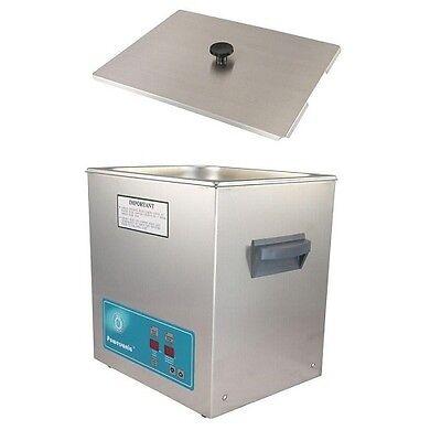 Crest Powersonic Ultrasonic Cleaner 3.25 Gallon Timer Heat P1100h-45 Basket
