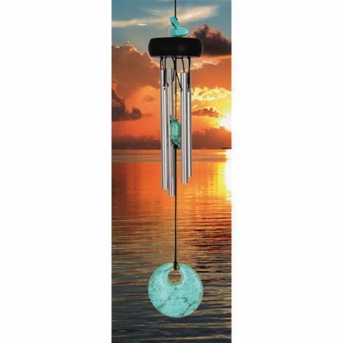 metal wind chimes ebay. Black Bedroom Furniture Sets. Home Design Ideas