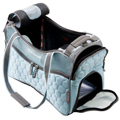 Petagon Airline Approved Blue Dog Cat Pet Carrier Tote